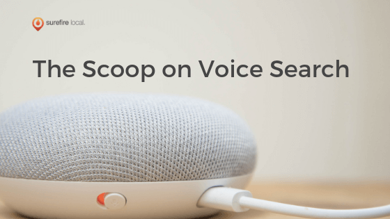 The Scoop on Voice Search