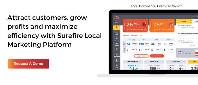 Get a Demo of the Surefire Local Marketing Platform